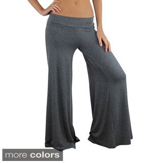 Free To Live Women's Wide Leg Boho Palazzo Gaucho Pants