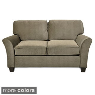 Sofab Muse II Love Seat with Two Toss Pillows
