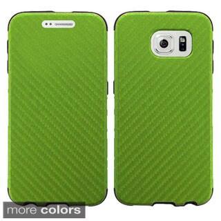 Insten Hard Plastic Dual-layer Hybrid Phone Case for Samsung Galaxy S6