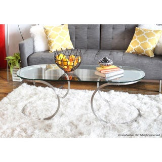 Eclipse Stainless Steel Coffee Table