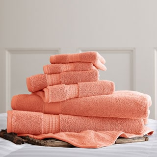 650 GSM Luxury Spa Collection 100-percent Cotton 6-piece Towel Set