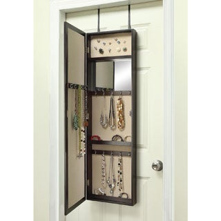 Hives & Honey Paige Over The Door Jewelry Mirror Armoire