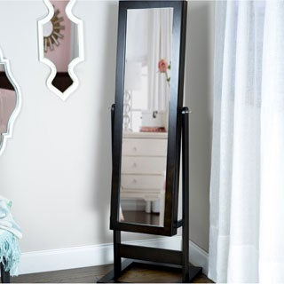 Hives & Honey Trinity Cheval Jewelry Mirror Armoire