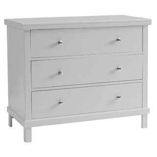 Sealy Bella Tranquility Grey Contemporary 3-drawer Dresser