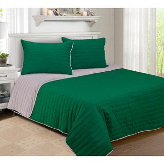Cotton Reversible 3-piece Quilt Set