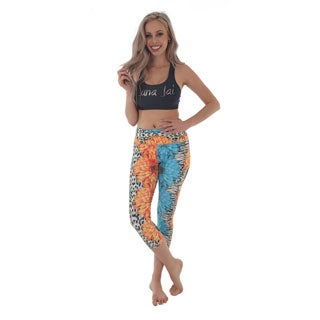 Luna Jai Women's 'Jungle Fever' Athletic Capris