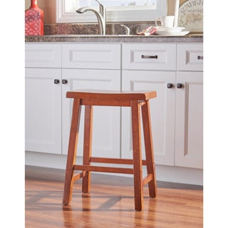 Oh! Home Carlisle Honey Brown Counter Stool - overpacked