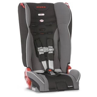 Diono Olympia Convertible Plus Booster Car Seat in Graphite