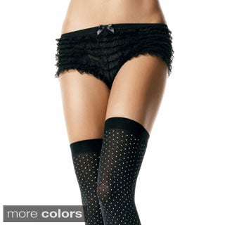 Women's Ruffle Lace Tanga Shorts