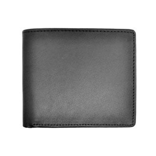 Royce Executive Bi-fold Genuine Leather Wallet with Change Compartment