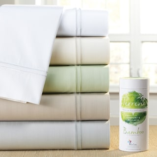 PureCare Luxurious SuperSoft Rayon from Bamboo and Cotton Sateen Sheet Set