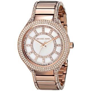 Michael Kors Women's MK3313 Kerry Round Rose Gold-tone Bracelet Watch