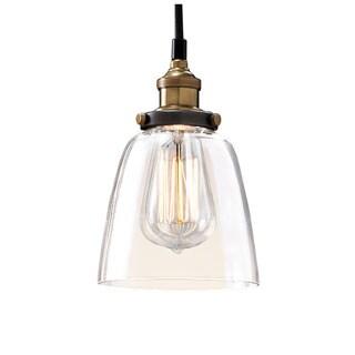 Warehouse of Tiffany Shantelle Adjustable Cord 6-inch Pendant Light with Light Bulb