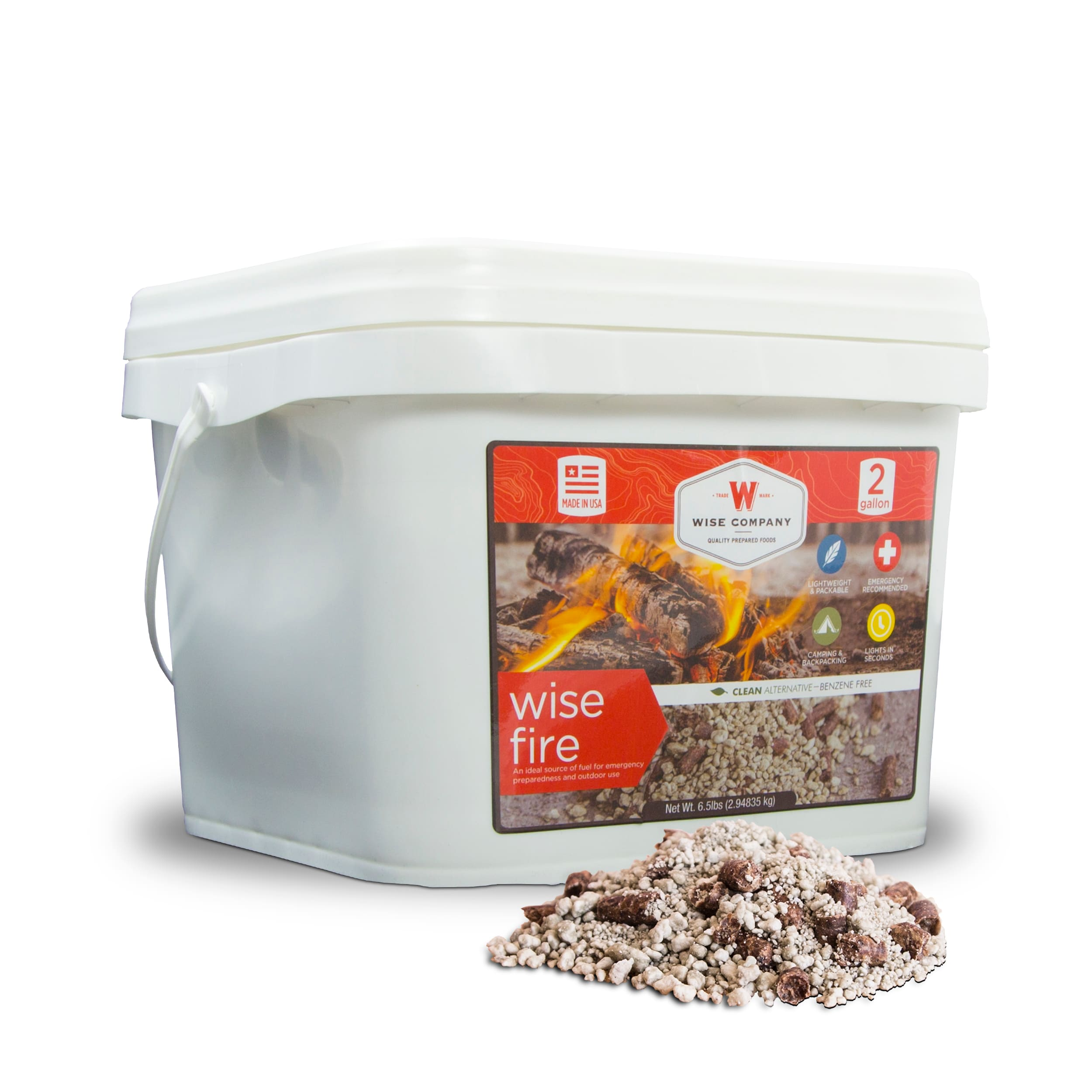 Wise Company WiseFire Starter (2 Gallons)