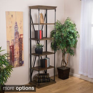 Christopher Knight Home Appleton Five-Shelf Industrial Bookcase
