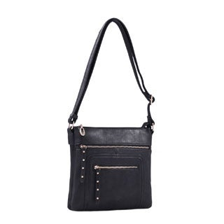 Lithyc Vegan Leather 'Samie' Crossbody Handbag