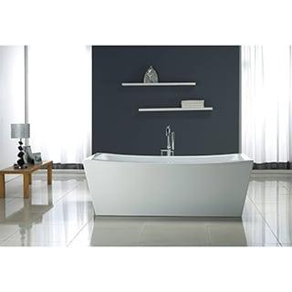 OVE Decors Terra 70-inch Freestanding Acrylic Bathtub