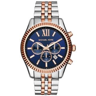 Michael Kors Men's MK8412 Lexington Round Two-tone Bracelet Watch