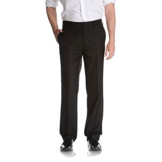 Tommy Hilfiger Men's Black Trim Fit Suit Separate Pant