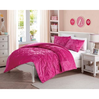 VCNY Chloe Plush Fleece Down Alternative 3-piece Comforter Set