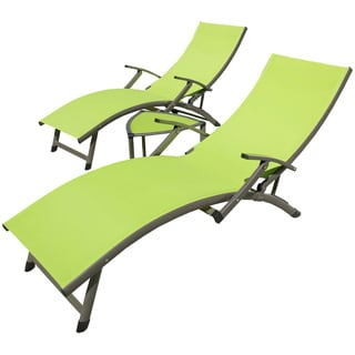 RST Brands Sol Sling 3-Piece Chaise Lounge Set