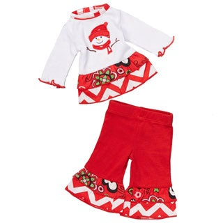 AnnLoren Christmas Frosty the Snowman Outfit for 18-inch dolls