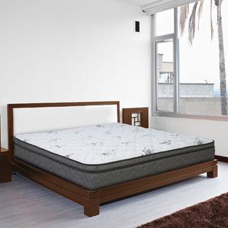 Wolf Twilight Latex Hybrid Pillowtop Queen-size Mattress
