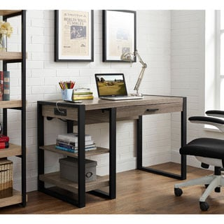48-inch Urban Blend Computer Tech Desk