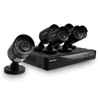 LaView 8-channel 1080p HD Analog with Two IP Channels, 2TB DVR and Six 1080p Cameras