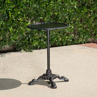 Christopher Knight Home Swivel Coco Cast Aluminum Accent Table