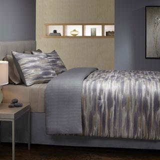 Grove Hill Brushed Stripe Cotton 3-piece Duvet Cover Set