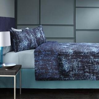 Grove Hill Abstract Cotton 3-piece Duvet Cover Set