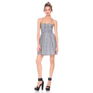 Stanzino Women's Pinstripe Tank Dress