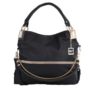 MKF Collection Twister Handbag with Removable Shoulder Strap