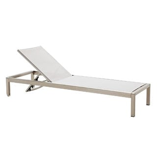 Jardin Outdoor Chaise Lounge in Grey