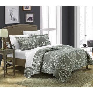 Chic Home Terni Reversible 7-piece Quilt Set