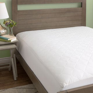 European Heritage 100 Cotton Mattress Pad (Standard or Extra Deep Fit)