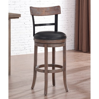 Melrose 29 Inch Swivel Bar Stool 17461460 Overstock