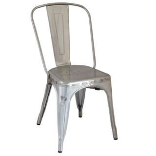 Tolix Style Bistro Side Chair
