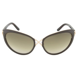 Tom Ford Daria FT0321-28F Brown and Gold Cateye Sunglasses