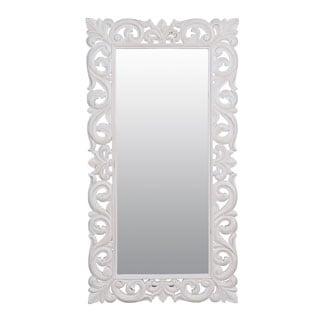 Harrisburg 58-inch Vintage White Rectangular Accent Mirror