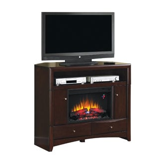 Delray 26-inch Media Console Fireplace