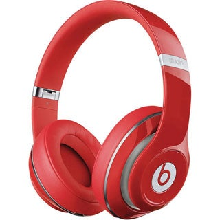 Beats by Dr. Dre Studio Over-Ear Headphones (Red)