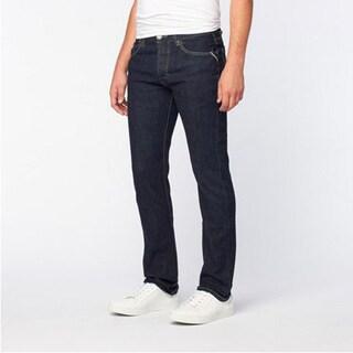 JNCO Men's Pierre Old School Rinse Straight Fit Jeans
