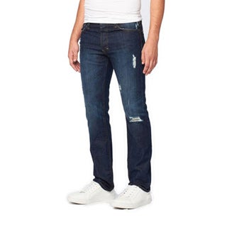 JNCO Men's Pierre Scrub Wash Straight Fit Jeans