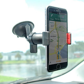 Universal Smartphone Suction Cup Windshield Mount Clip