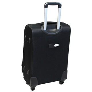 World Traveler Zota Classic 3-piece Spinner Upright Luggage Set