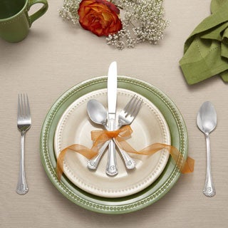 RiverRidge 46-piece Personalized Flatware -Excelsior Pattern