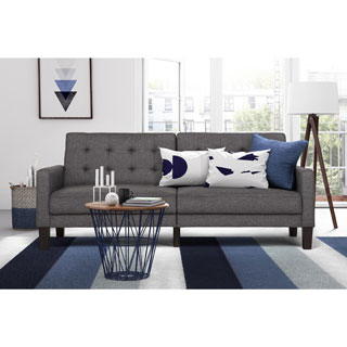 DHP Grey Paris Futon