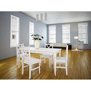 Scandinavian Lifestyle Noah Dining Chairs (Set of 2)